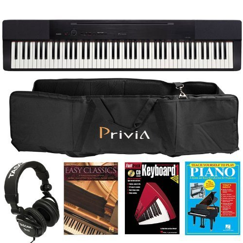 Casio Privia PX-150 Digital Piano Bundle with 3 Hal Leonard