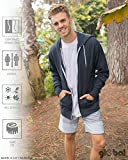 Global Blank Unisex Hooded Fleece Jacket Zip-Up