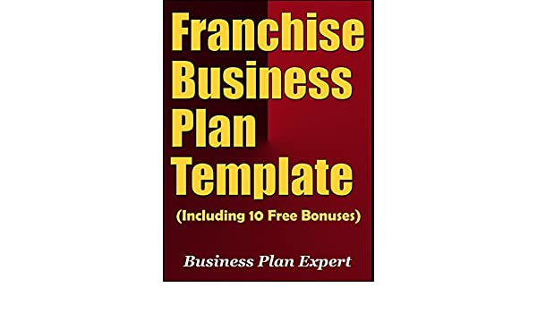 Amazoncom Franchise Business Plan Template Including Free - Franchise business plan template