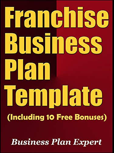Amazon Franchise Business Plan Template Including 10 Free