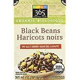 365 Everyday Value Organic Black Bean No Salt Added, 13.4 oz