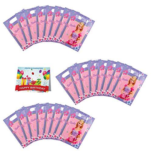 Barbie Party Favor Treat Bags Bundle Pack of 24]()