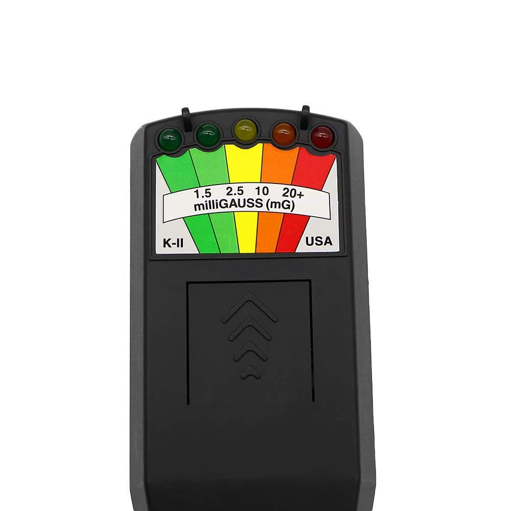 EMF Meter Magnetic Field Detector Ghost Hunting Paranormal Equipment Tester 5LED