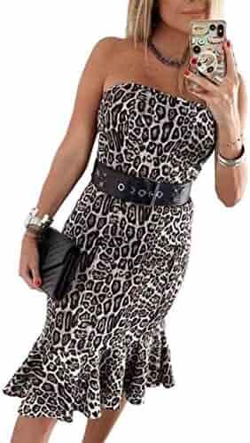 1f34d726e55b83 Shopping Midi - Animal Print - Club & Night Out - Dresses - Clothing ...