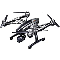 Yuneec Typhoon 4K Q500 RTF Hexacopter Drone Sky Command Bundle with CGO3 4K UHD Camera ST10+ Controller Wizard Wand SkyView FPV Display Headset and Custom Backpack by Yuneec