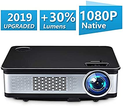 UnlimiTV Native 1080p Full HD Home Theater Video LED Projector- Big Screen,Up to 150 Inch Size,Compatible with TV-Box,Fire TV ROKU Sticks,SD, ...