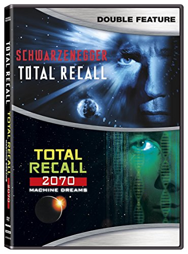 Total Recall/ Total Recall 2070 [DVD] -  Rated R, Arnold Schwarzenegger