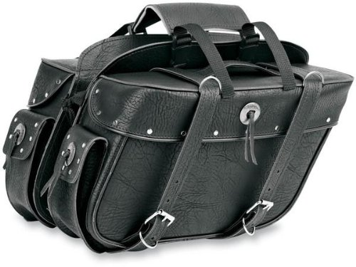 All American Rider Detachable Studded Saddlebags 9698RP
