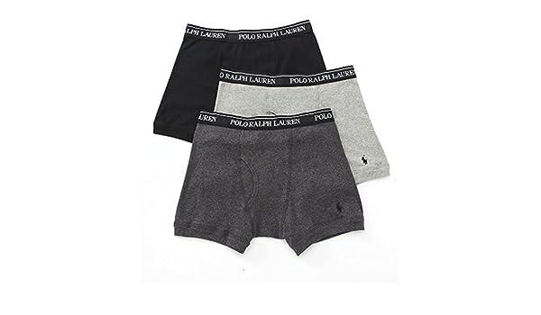 Polo Ralph Lauren Classic Cotton Boxer Brief 3-Pack: Amazon.es ...