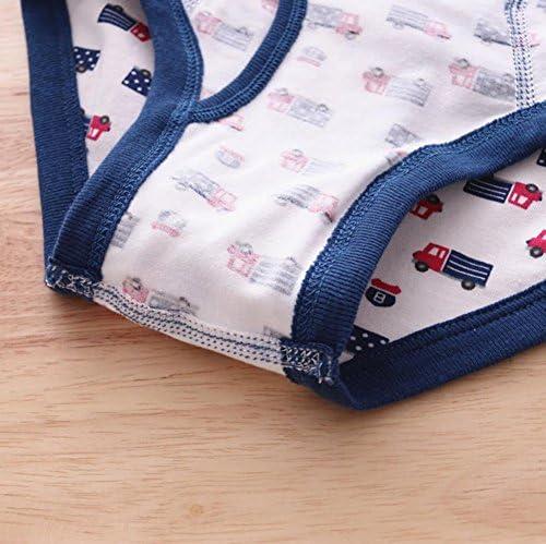 ショーツ キッズ 男の子 パンツ 下着 子供用 ボーイズ ボクサーパンツ ブリーフ 前開き コットン ソフト 通気 吸汗 快適 肌着 ベビー 可愛い アニマル トランクス 高品質 プレゼント 4枚セット