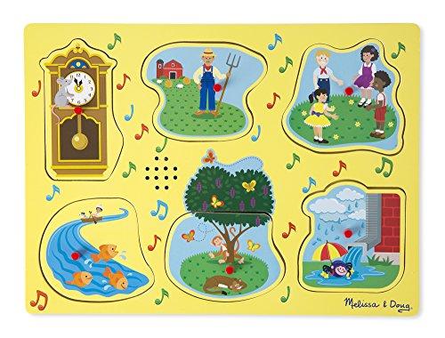 Melissa & Doug Sing-Along Nursery Rhymes Sound Puzzle – 1