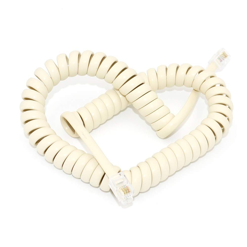 Good Flexibility Competitive Price Spiral Telephone Cable Handset Cord