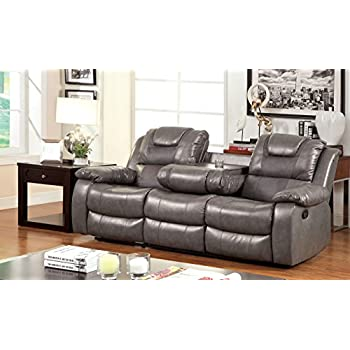 Furniture Of America Steely 2 Recliner Sofa