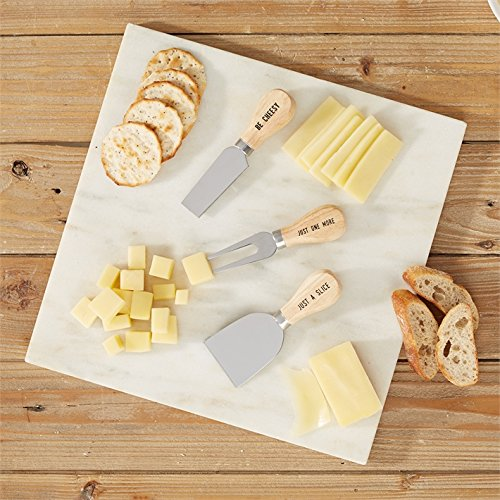Two's Company Be Cheesy set of 3 Cheese Knives