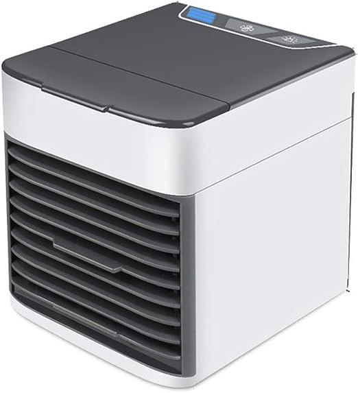 SCKL Ventilador De La Caja Pequeña Habitación De Aire Acondicionado De Refrigeración Cama del Dormitorio De Enfriamiento Portátil Mini Ventilador De Escritorio Refrigerador Micro USB Verano: Amazon.es: Hogar