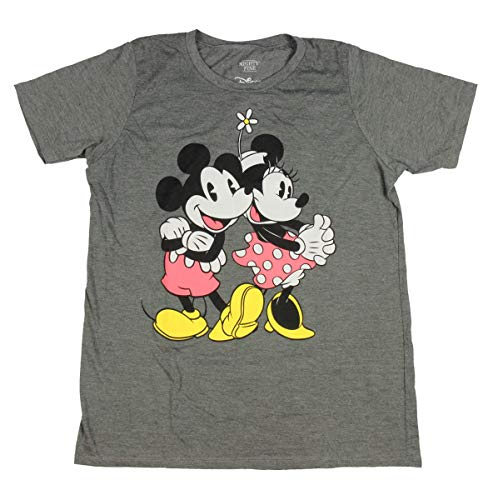 Disney Mickey and Minnie Mouse Shirt Vintage Classic Character Adult Women
