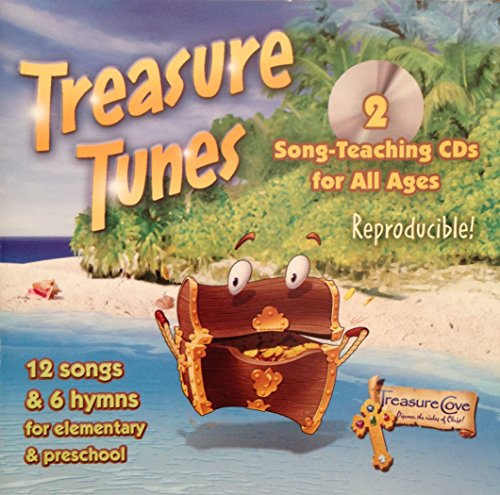 Treasure Tunes: 2 Song-Teaching CDs for all ages -Reproducible!