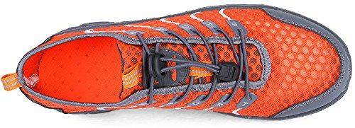 Lightweight Water Go Outdoor Shoe On Tour Mens Walking Dry Shoe Quick Slip Leisure Orange xqvqRgfUw