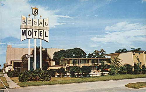 Regal Motel Clearwater, Florida Original Vintage Postcard ()