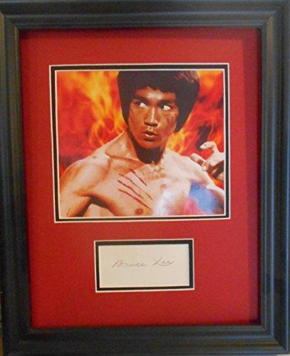 Bruce Lee cut Signatuer