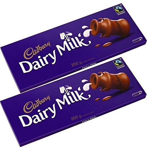 Cadbury Dairy Milk 850g Twin Pack by Cadbury Gifts Direct
