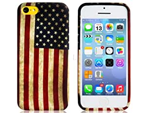 etou usa flag plastic case for iphone 5c best. Black Bedroom Furniture Sets. Home Design Ideas