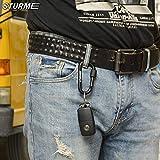 "STURME Carabiner Clip 3"" Aluminum D-Ring Locking"