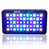 MarsAqua Dimmable 165W LED Aquarium Light Lighting Full Spectrum...