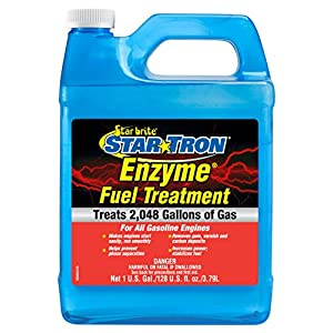Star brite 093000N Tron Enzyme Concentrated Gas Formula 930 Fuel Treatment, 1 gallon