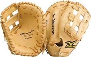 Mizuno Pro GMP30 Baseball Firstbase Mitt, Tan, 12.50-Inch, Right Handed Throw