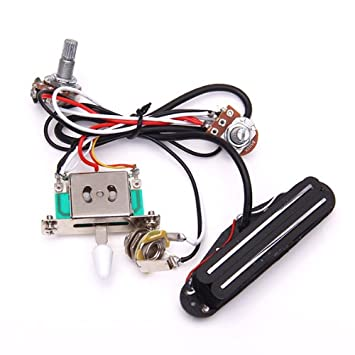 amazon com circuit wiring harness w pickup for electric guitar circuit wiring harness w pickup for electric guitar
