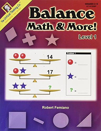Balance Math & More! Level 1 (Grades 2-5)