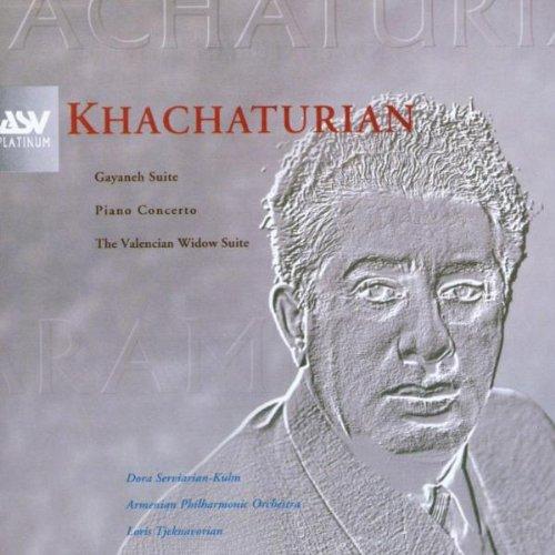 Khachaturian: Gayaneh Suite, Piano Concerto, The Valencian Widow Suite (Platinum Dora)