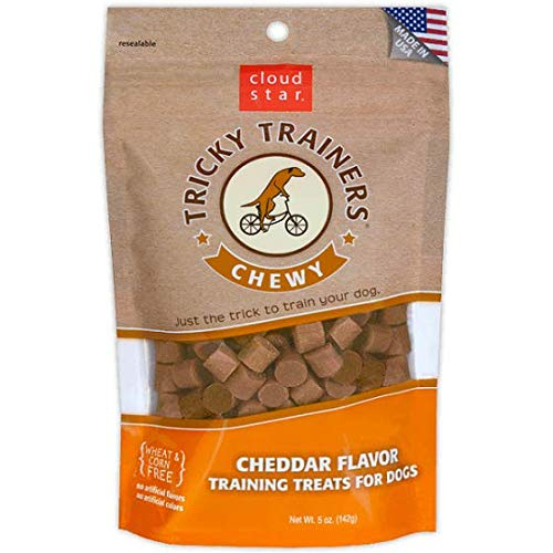 Cloud Star Chewy Tricky Trainers, Cheddar Flavor, 14-Ounce Pouches (Pack Of 1)