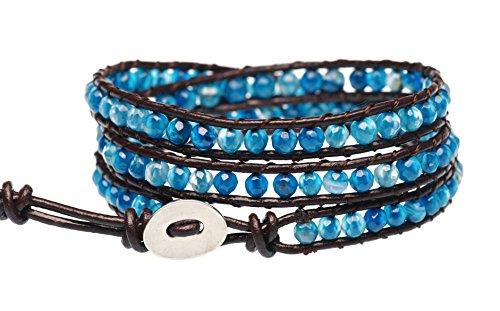 BLUEYES Blue Agate Bracelet