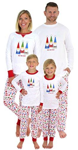 Sleepyheads Holiday Family Matching Gnome Pajama PJ Sets - Womens (SHM-5009-W-LRG) -