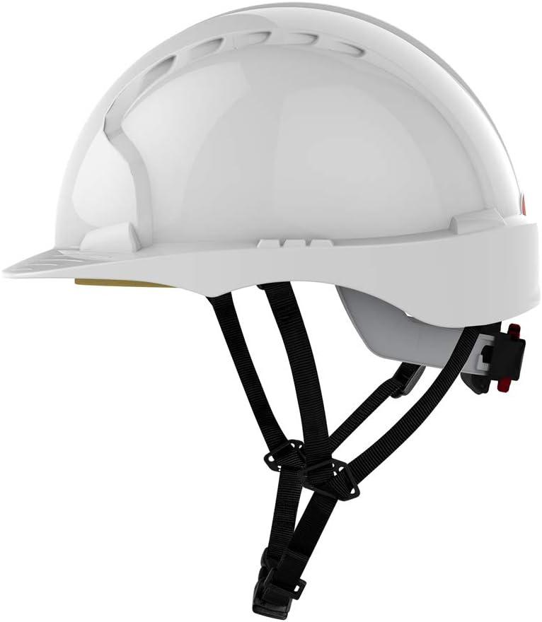 Evo3 C + Helm – Casco protector para instaladores JSP con 4 puntos de correa y Cilindro de cierre: Amazon.es: Bricolaje y herramientas