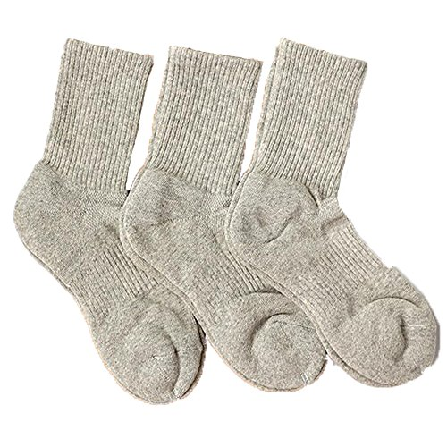 betTrade Men's Wool Socks 3 Pairs-Warm Cotton Winter Thick Crew Socks-Fits Shoe 6-10