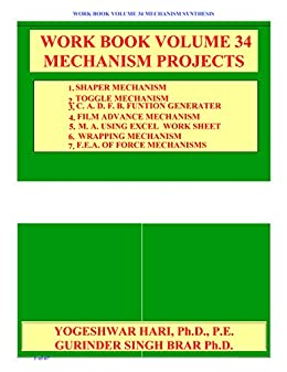 WORK BOOK VOLUME 34 MECHANISM PROJECTS
