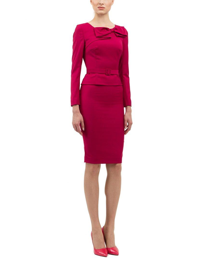 BGL Womens 2Pc Wool-Blend Skirt Set, 4