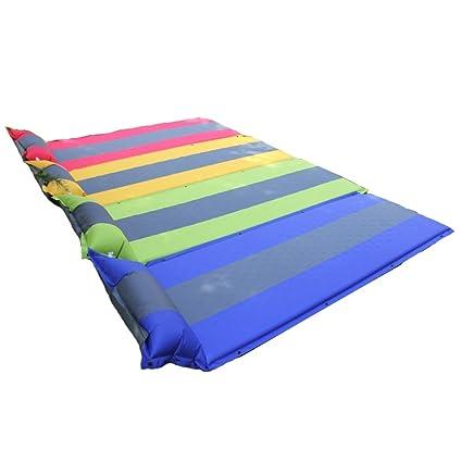 YUJIE colchón hinchable para cama individual, con almohada ...