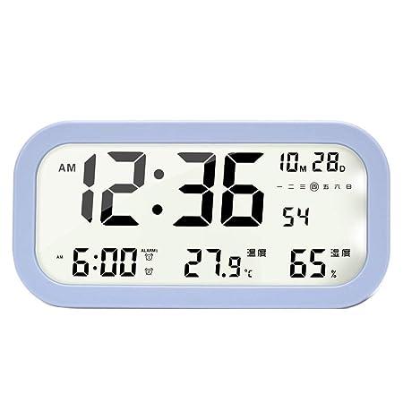 Despertadores Electrónicos/Despertador Digital Reloj digital de ...