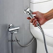 All copper shower spray pressurized small/Toilet gun/Hand shower scrubber/Flusher-B