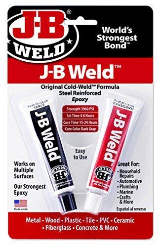 J-B Weld 8265S Cold Weld Steel Reinforced Epoxy with Hardener, 2 oz (1) - Jb Cold Weld