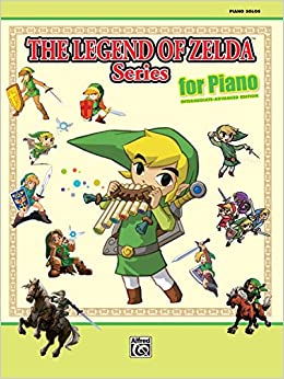 The Legend Of Zelda Series For Piano Piano Solos Koji