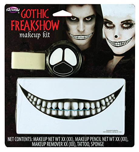 Gothic Freakshow Makeup Kit Costume Accessory -