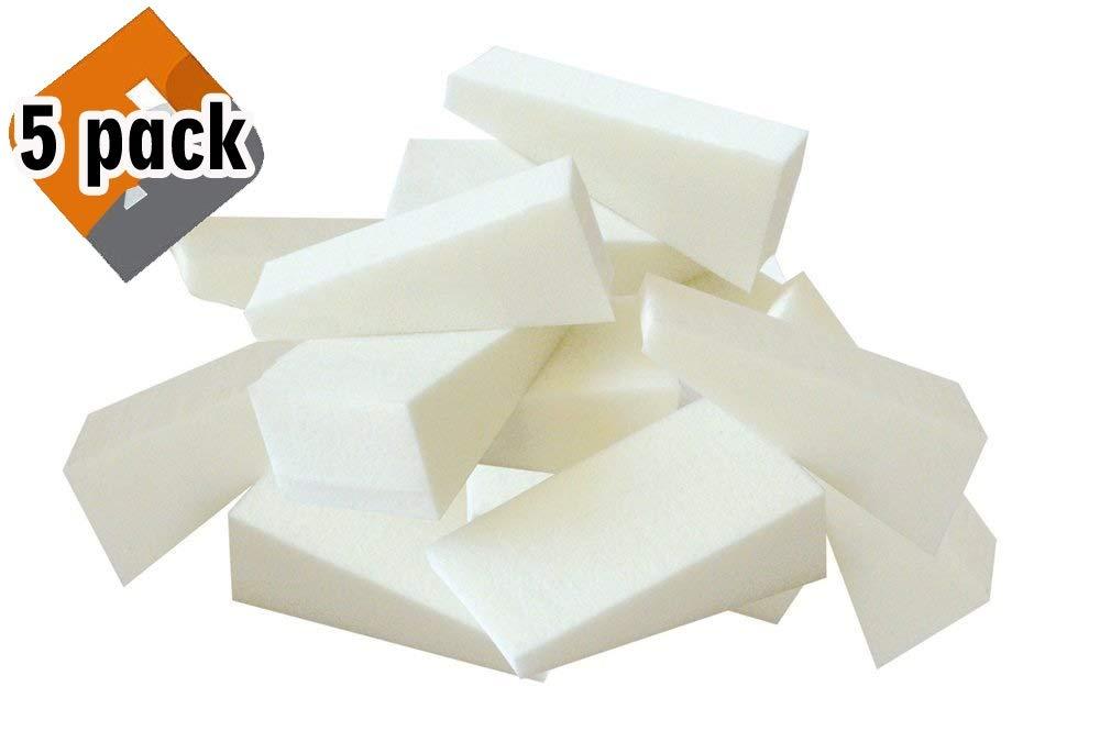 FantaSea Latex Free Foam Wedges, 100-count Bag, 5 Pack