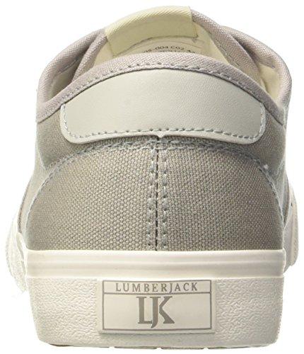 Gris Lt Grey Homme Sneakers Cd002 Lumberjack Basses Wes IqHXYx4