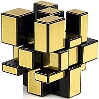 CH. R & S Toys Shengshou 3X3X3 Speed Golden Mirror Magic Cube - Golden