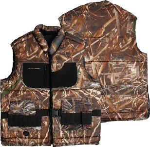 (Stearns Waterfowl Float Vest, Realtree Max-4 Camouflage,)